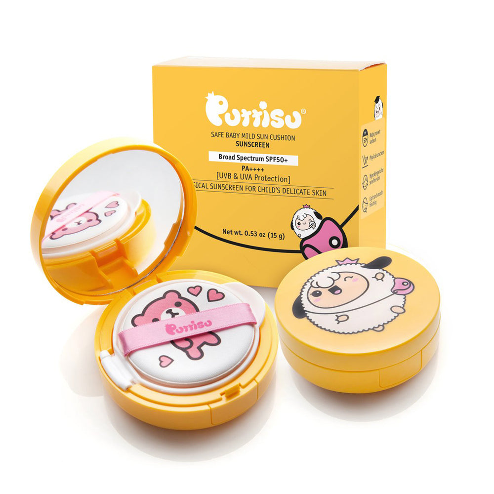 Safe baby Mild Sun Cushion Sunscreen by Puttisu