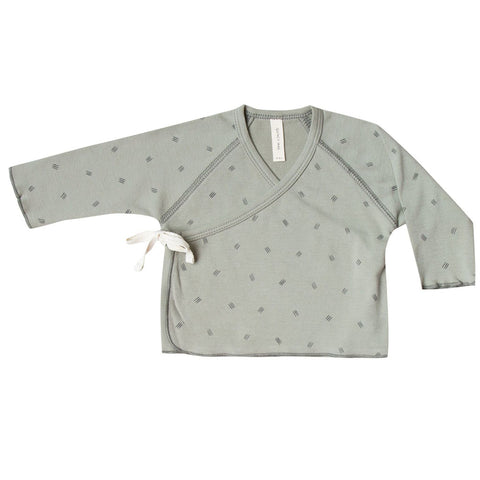 Kimono Top in Sage by Quincy Mae