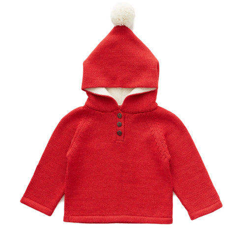 Santa Hooded Sweater by Oeuf