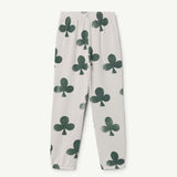 Sculptor Kids Pants in White Clovers by The Animals Observatory