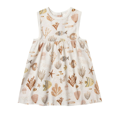 Sea Life Layla Dress by Rylee and Cru