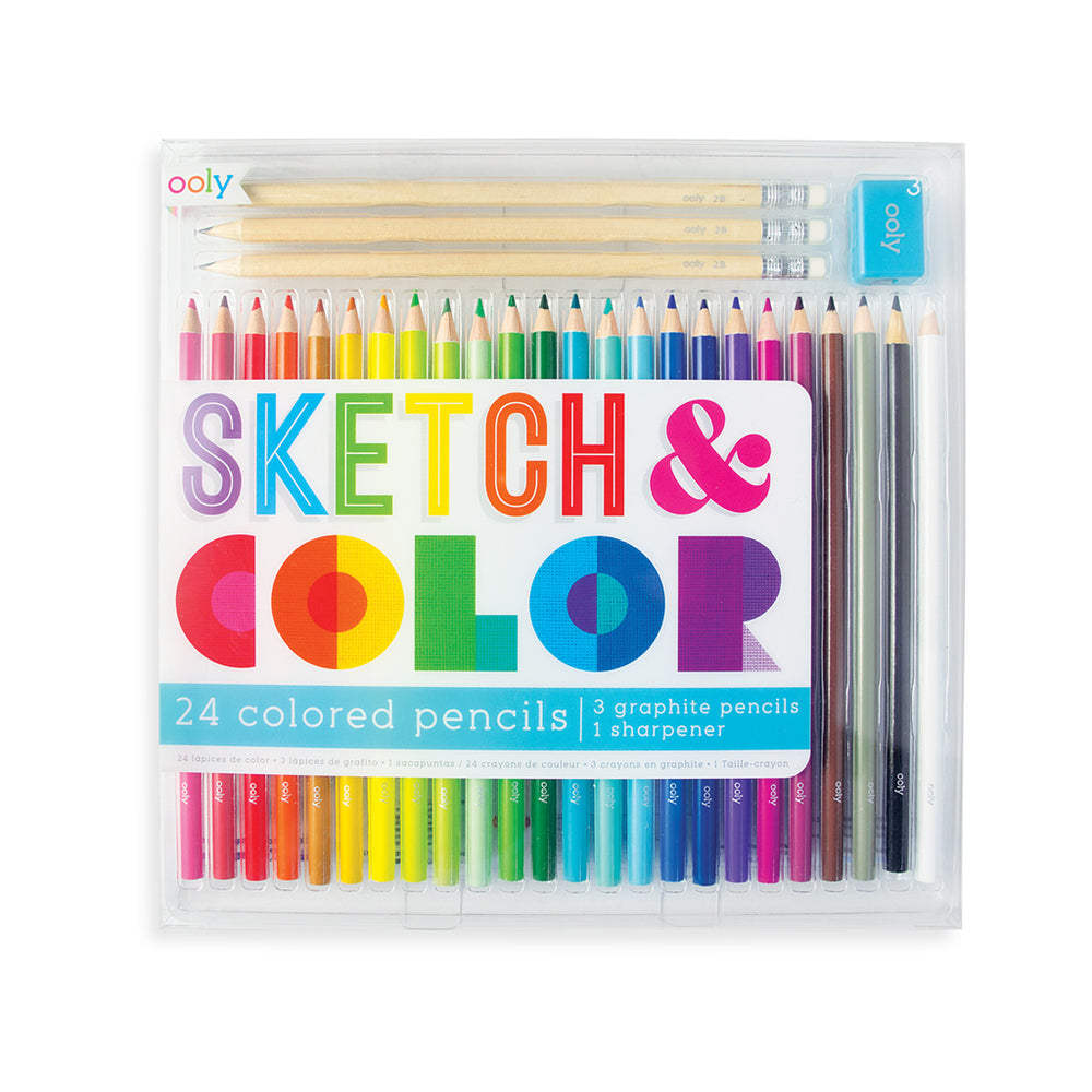 Sketch and Color Kit by Ooly