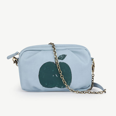 Soft Blue Apple Clutch by The Animals Observatory