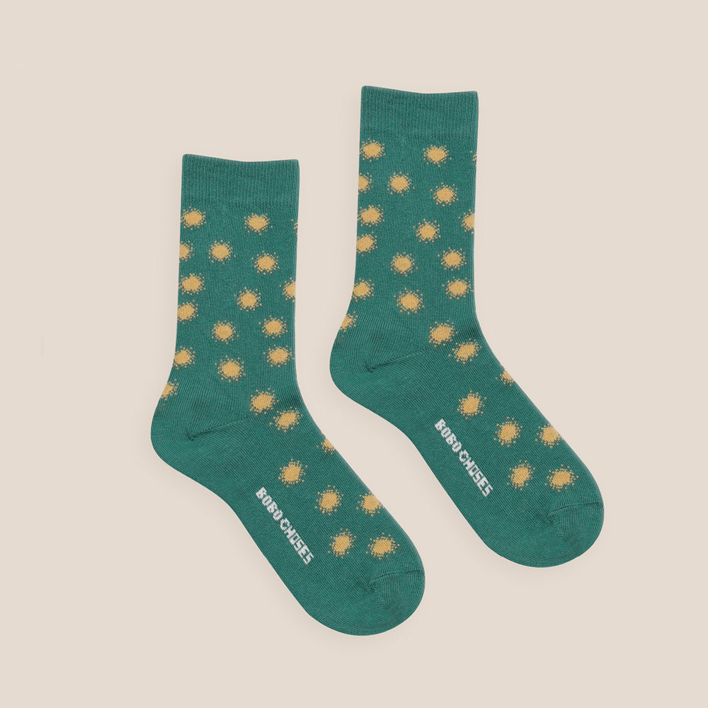 Spray Dots Short Socks by Bobo Choses