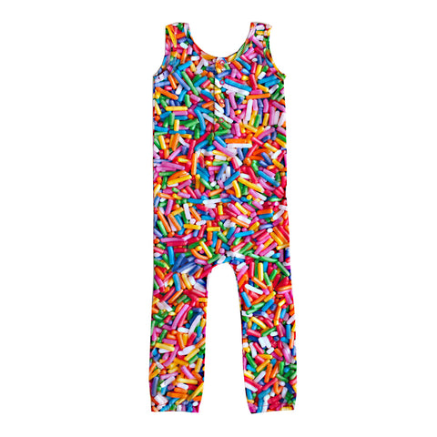Roro Romper in Rainbow Sprinkles by Romey Loves Lulu