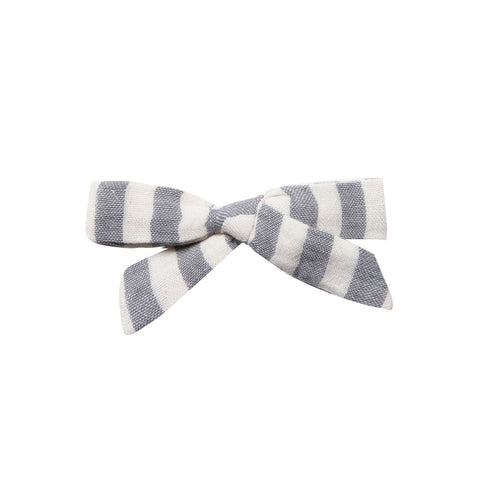 Storm Stripe School Girl Bow by Rylee and Cru