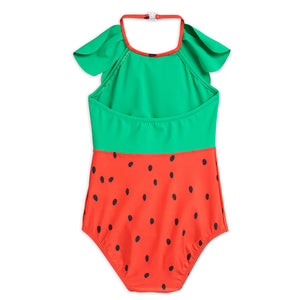 Strawberry Halterneck Swimsuit by Mini Rodini