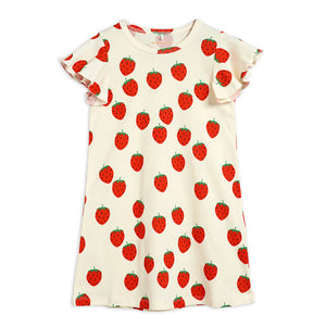 Strawberry Wing Dress by Mini Rodini