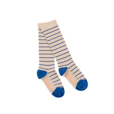 Stripes High Socks by Tinycottons