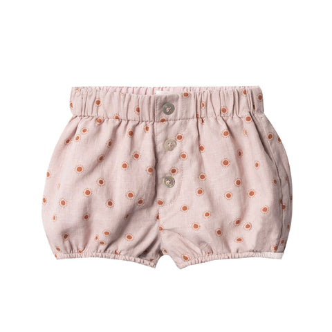 Sunburst Button Short by Rylee and Cru