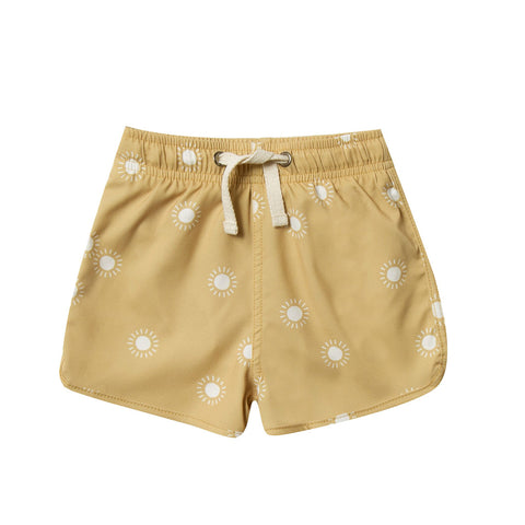 Sunburst Swim Trunk by Rylee and Cru