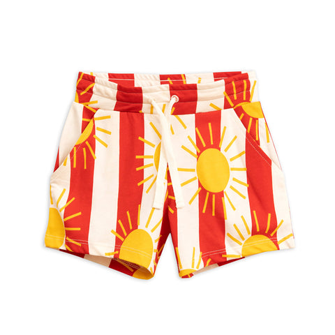 Sun Stripe Shorts by Mini Rodini