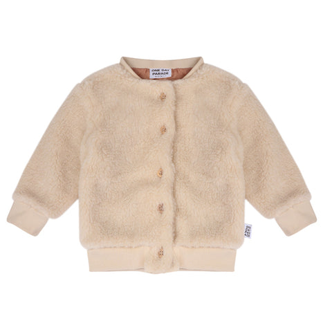 Teddy Cardigan by One Day Parade