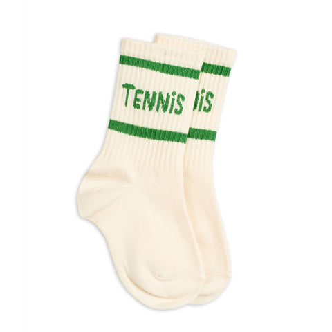 Tennis Socks White by Mini Rodini