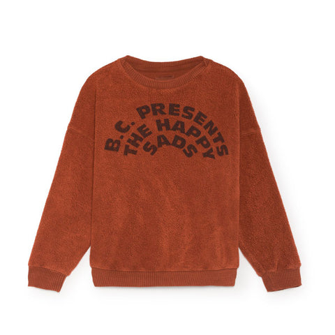 The Happy Sads Sheepskin Fleece Sweatshirt by Bobo Choses