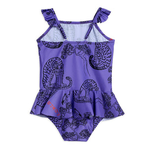Tigers Skirt Swimsuit by Mini Rodini