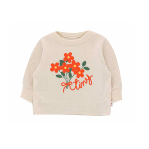 Tiny Bouquet Baby Sweatshirt by Tinycottons