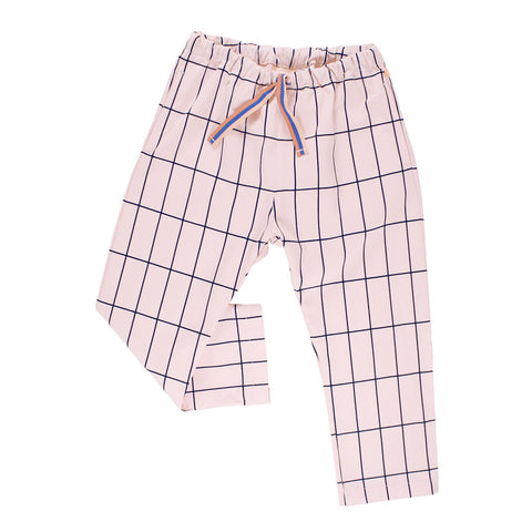Big Grid Woven Pant by Tinycottons