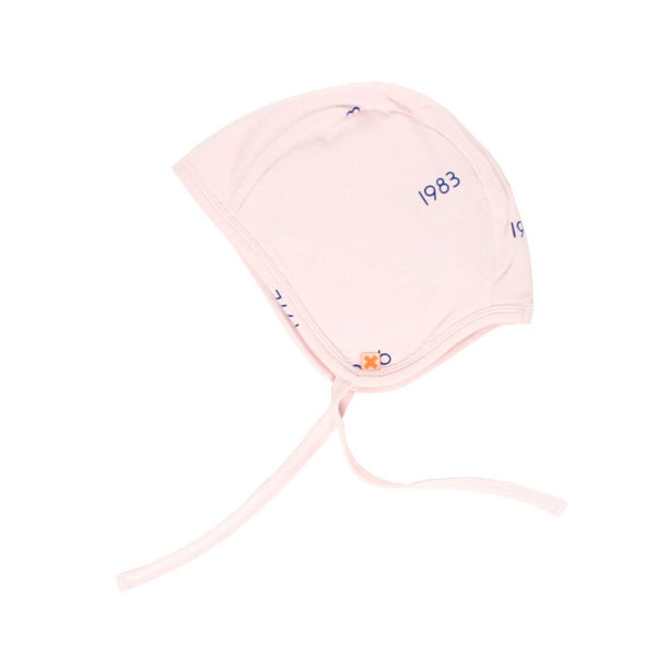 Years Baby Hat in Pale Pink by Tiny Cottons SS17