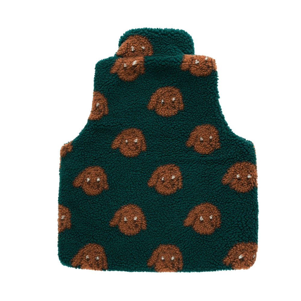 Tiny Dog Sherpa Vest by Tinycottons