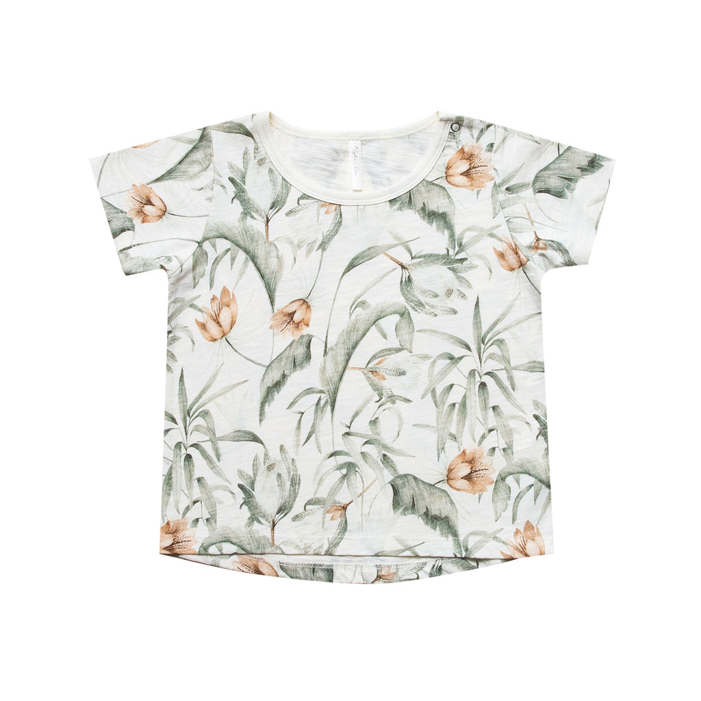Tropical Basic Tee by Rylee and Cru