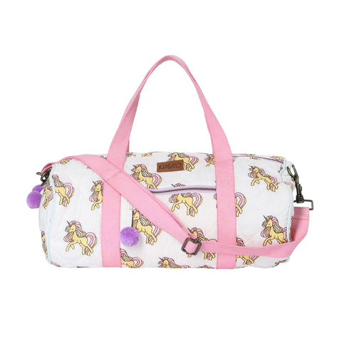 Unicorn Quilted Duffle Bag by Kip and Co