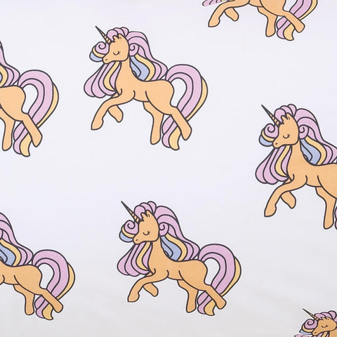 Unicorn Twin Size Fitted Sheet by Kip and Co
