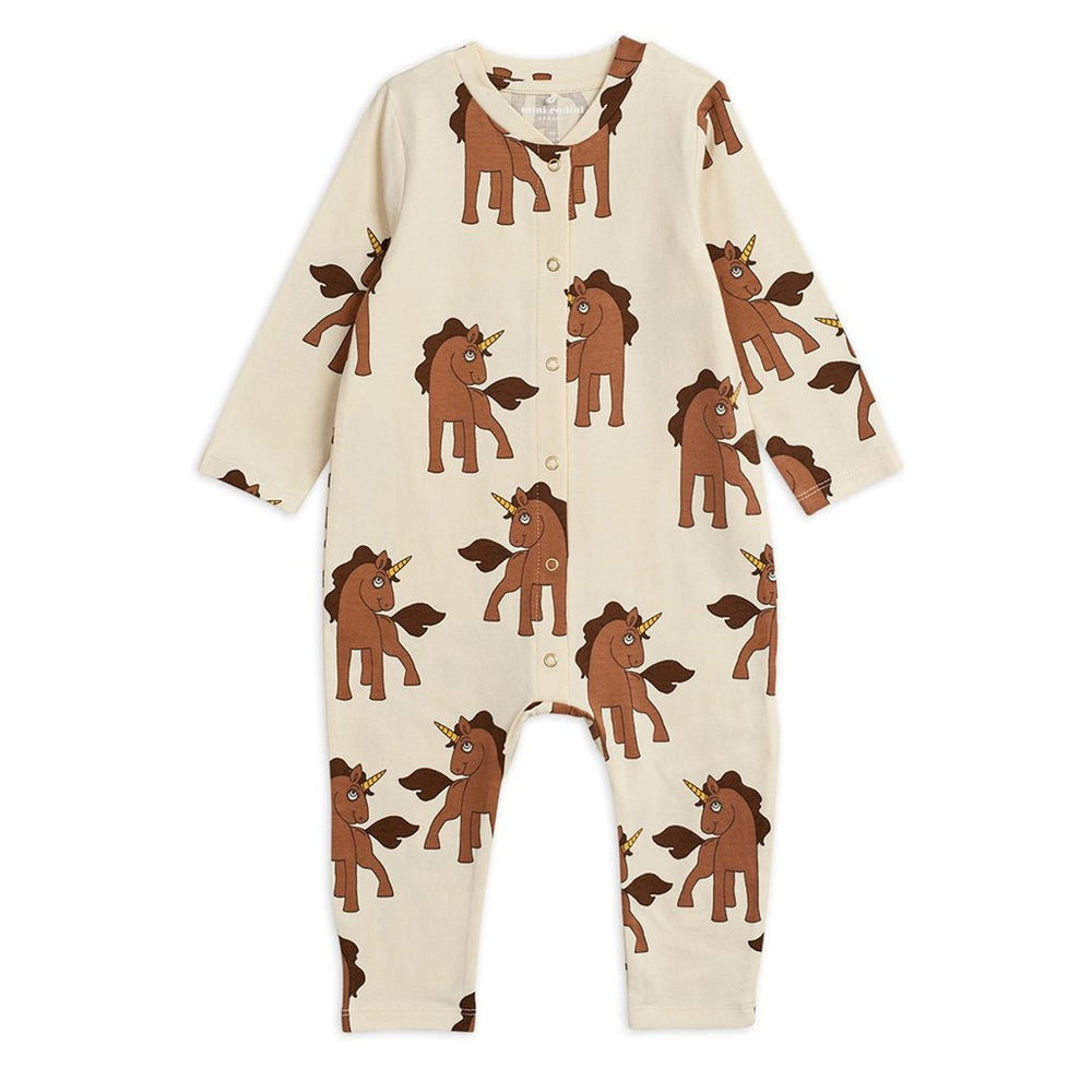 Unicorns Jumpsuit by Mini Rodini
