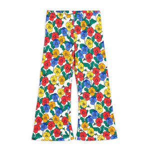 Violas Flared Trousers by Mini Rodini