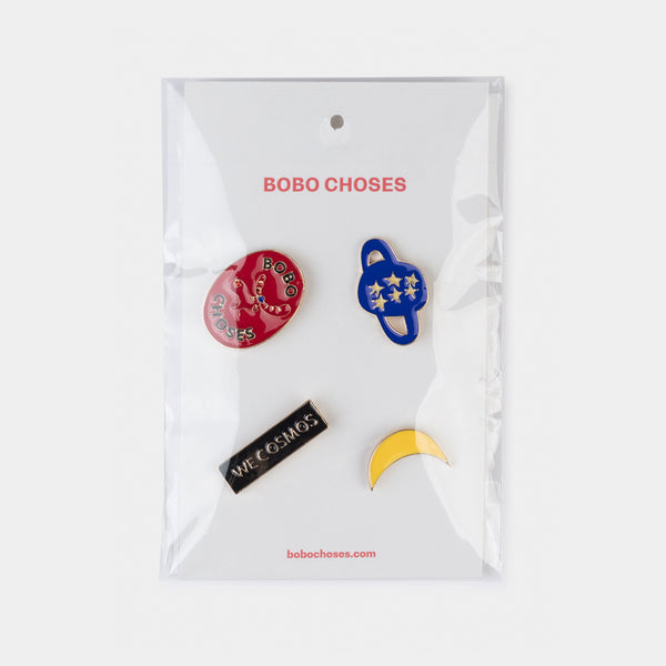 We Cosmos Pins Pack by Bobo Choses