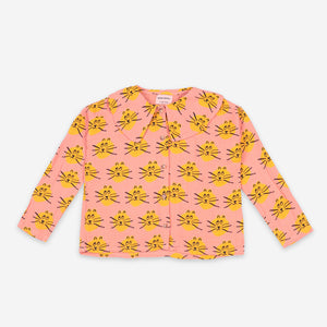 Cat All Over Woven Blouse by Bobo Choses