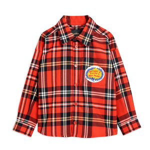 Woven Flannel Shirt by Mini Rodini