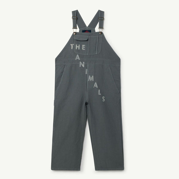 Woven Mechanic Kids Suit by The Animals Observatory