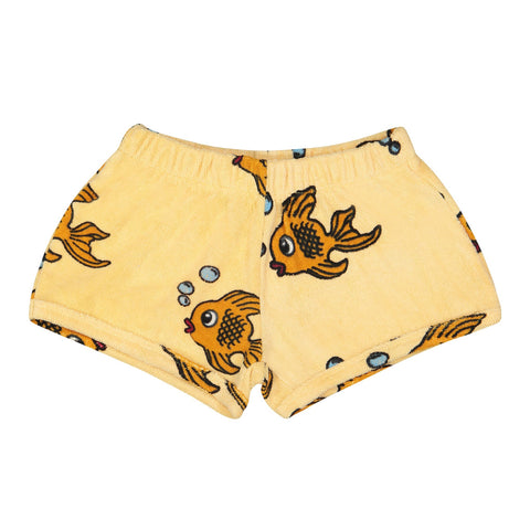 Yellow Fish Terry Shorts by Hugo Loves Tiki