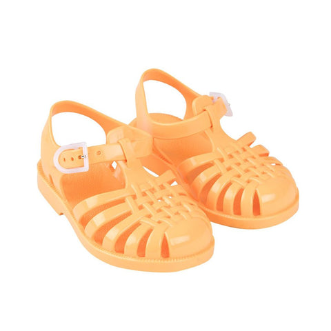 Yellow Jelly Sandals by Tinycottons