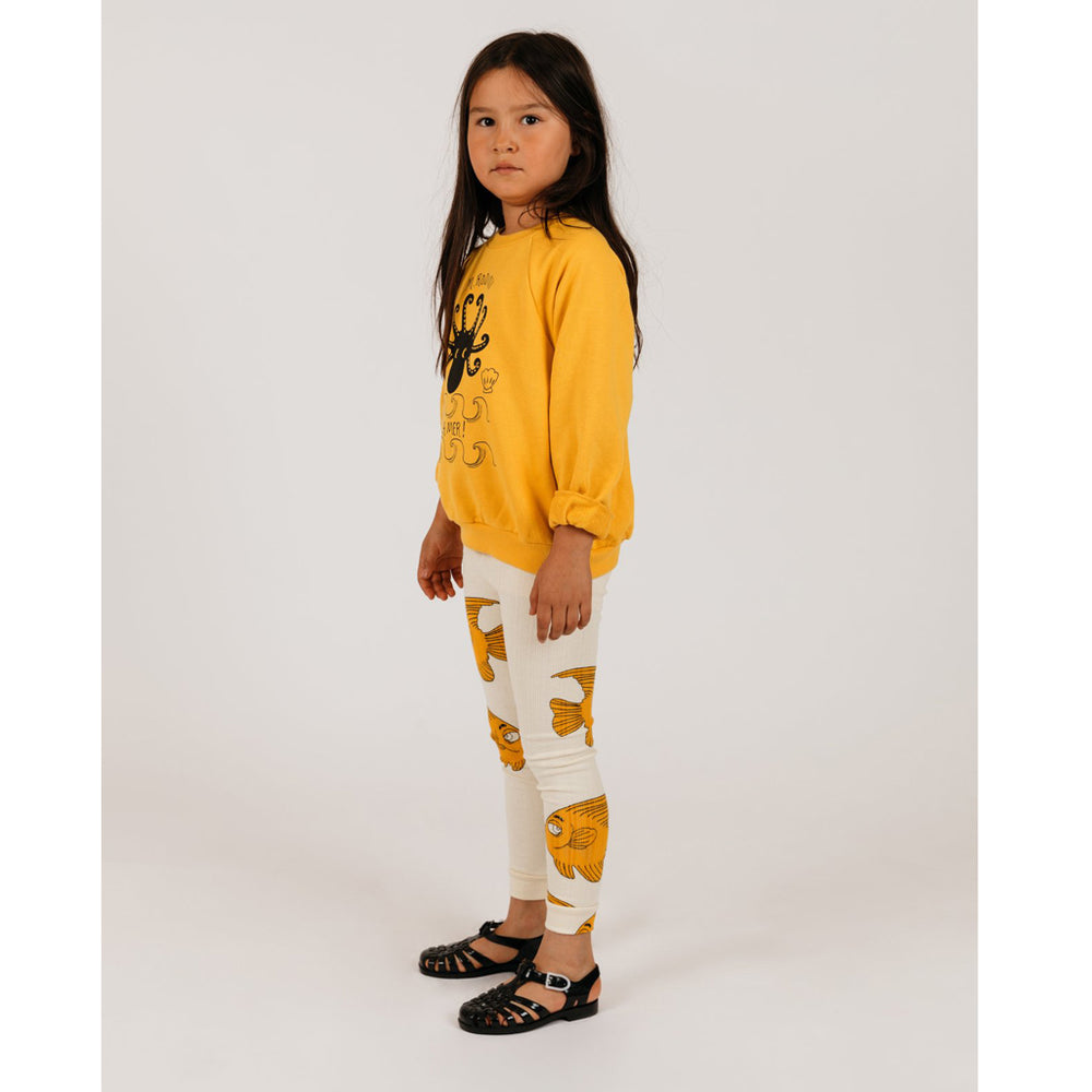 Fish Leggings by Mini Rodini