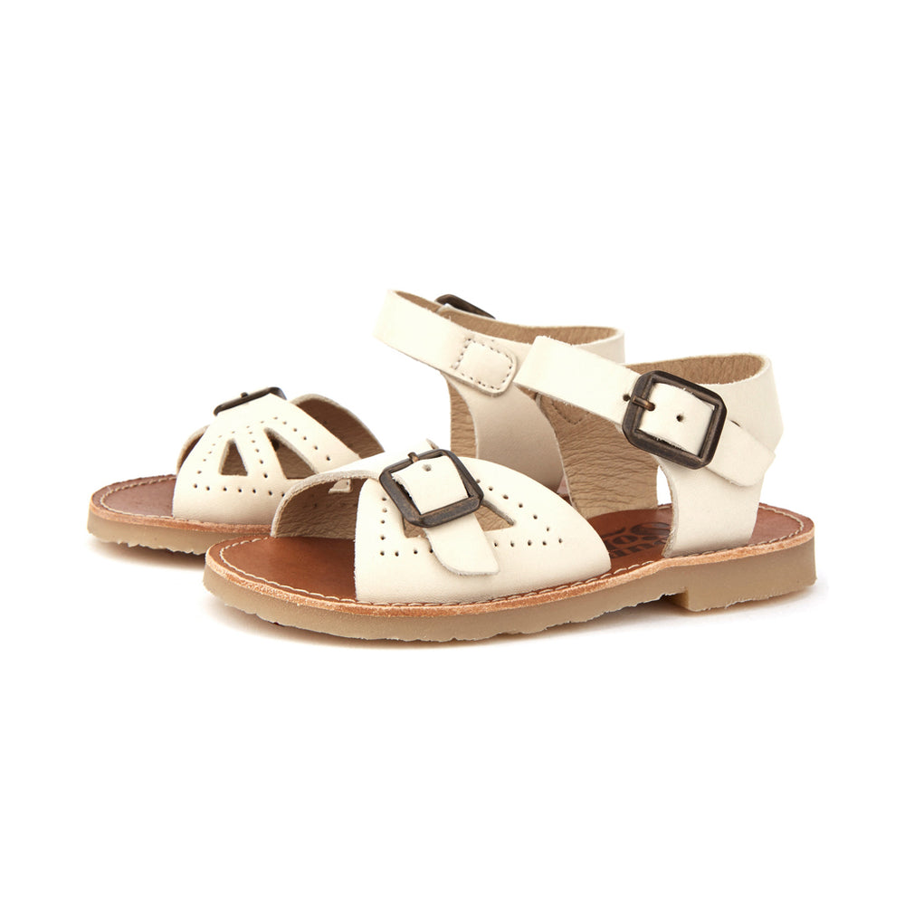 Pearl Sandal Vanilla by Young Soles