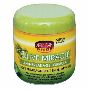 African Pride Olive Miracle Anti-Breakage Formula