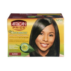 African Pride Olive Miracle Deep Conditioning Anti-Breakage No-Lye Relaxer