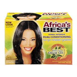 Africa's Best® Dual Conditioning No-Lye Relaxer System - 1 CT