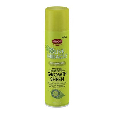 Olive Miracle Maximum Strengthening Growth Sheen 8 oz