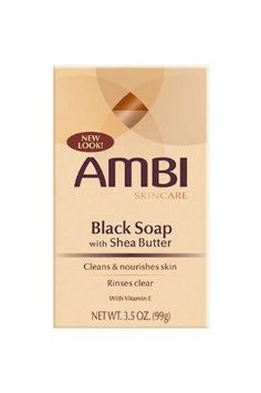 AMBI Black Bar Soap 3.5oz
