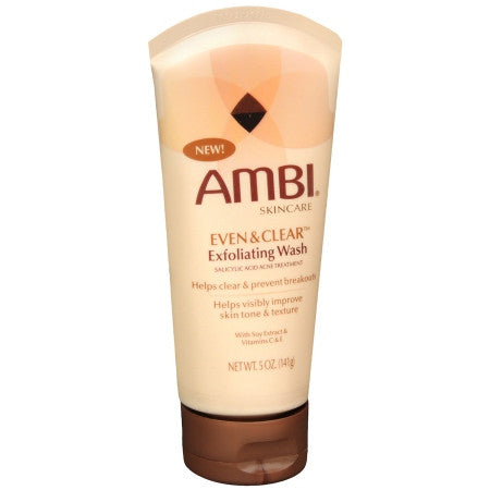 AMBI Even&Clear Exfoliating Wash 5oz