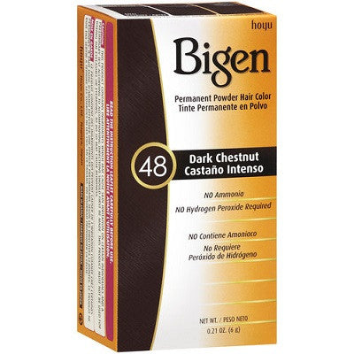 Bigen Permanent Powder Dark Chestnut 48 Hair Color