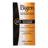 Bigen Permanent Powder Hair Color, 59 Oriental Black