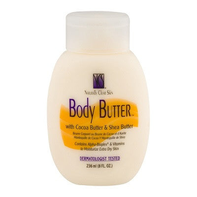 BioCare Labs Naturally Clear Skin Body Butter 8 oz