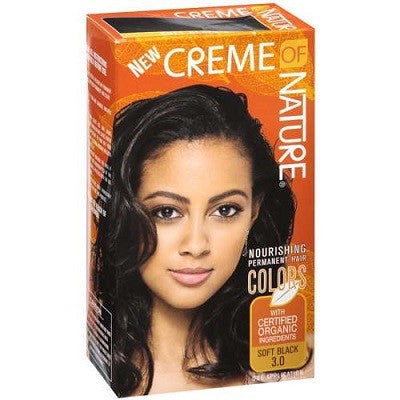 Creme of Nature Gel Color Nourishing 3.0 Soft Black