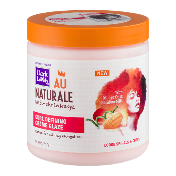 Dark & Lovely Au Naturale Curl Defining Crème Glaze 14 oz