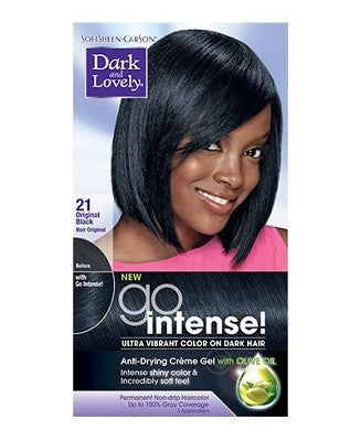 dark & lovely GO INTENSE permanent hair color