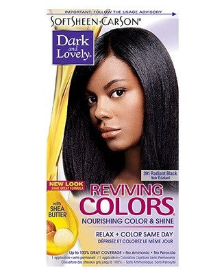 Dark & Lovely REVIVING COLORS semi-permanent hair color